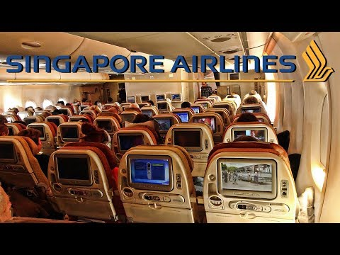 SINGAPORE AIRLINES | ZURICH-SINGAPORE | ECONOMY CLASS | A380