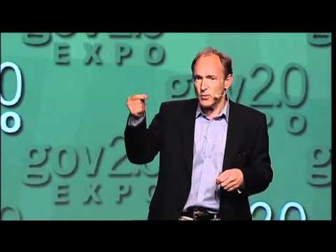 gov2.0 Expo 2010 - Tim Berners-Lee - YouTube