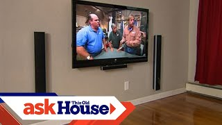 How to Hang a Flat-Screen TV | Ask This Old House