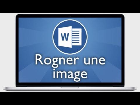 Tutoriel word 2013 rogner ou couper une image youtube - Couper une image sur word ...