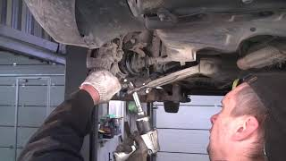 Chevrolet Aveo 1,4 бензин 2006 г Замена шаровой опоры
