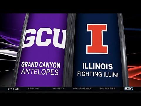 Grand Canyon at Illinois - Men's Basketball Highlights