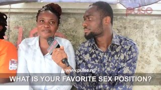 Video What Is Your Favourite Sex Position? | Pulse TV Vox Pop download MP3, 3GP, MP4, WEBM, AVI, FLV September 2018