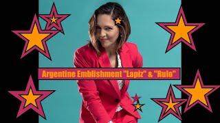 "Argentine Emblishment ""Lapiz"" & ""Rulo"""