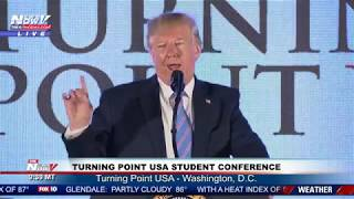 PRESIDENT TRUMP Marathon Speech At Turning Point USA - FULL Speech