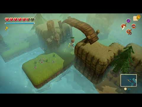 Oceanhorn 100% Walkthrough Part 11- Island Of Whispers