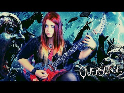 WHEN THE UNDEAD RISE - [Original Song - OVERSENSE] [GUITAR PLAYTHROUGH] | Jassy J