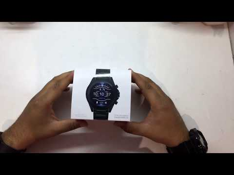 ARMANI EXCHANGE SMART WATCH AXT2002 UNBOXING