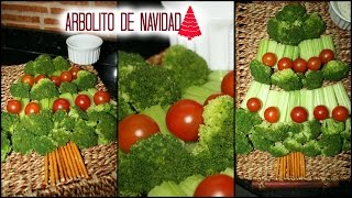 IDEAS PARA CENA DE NAVIDAD/ AÑO NUEVO. (ENSALADA ÁRBOL DE NAVIDAD) Thumbnail