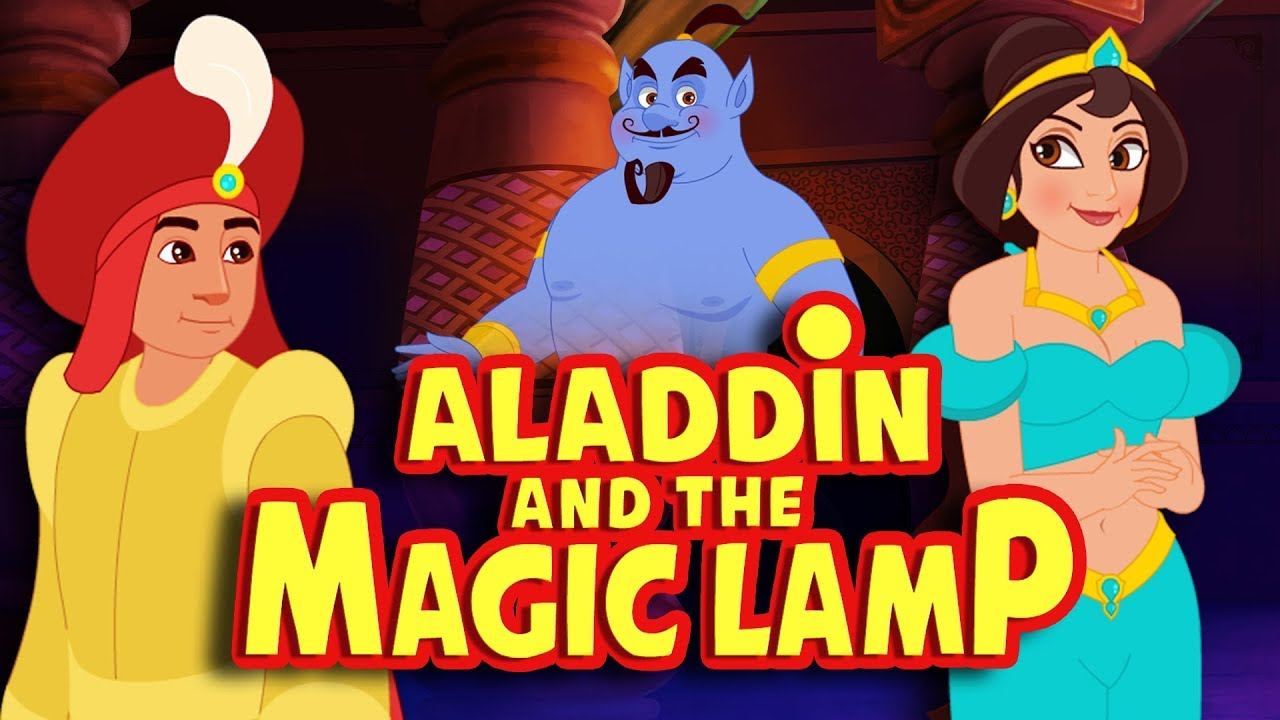 Aladdin and the Magic Lamp Full Movie - Story For Kids ...