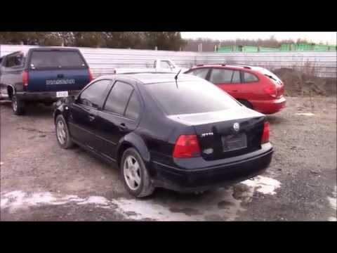 2000 Volkswagen Jetta Junk Yard Walk around and Start up