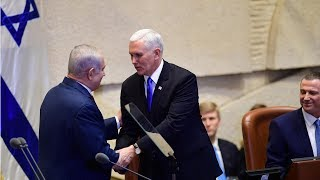 US Vice President announces plan to accelerate embassy move