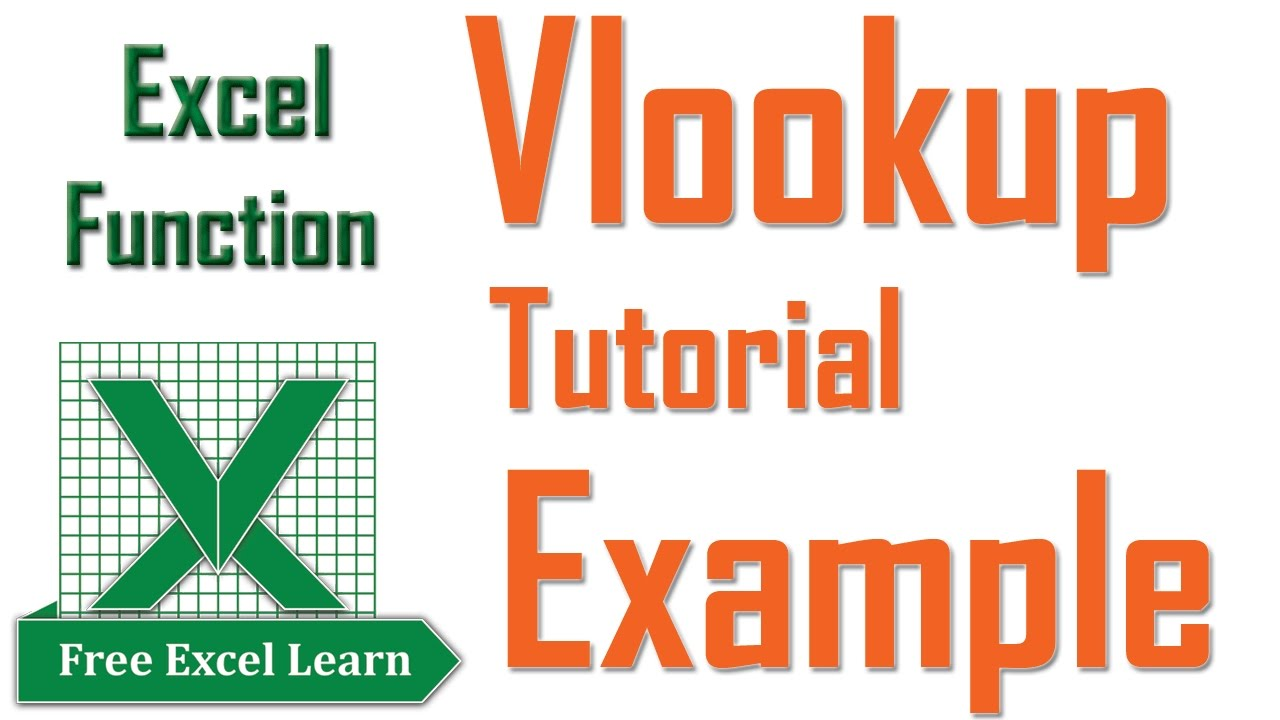 Excel Vlookup Examples With Multiple Sheets freeexcellearn YouTube – Vlookup Multiple Worksheets