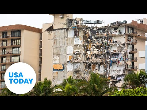 Miami condo collapse: Drone footage shows the destruction   USA TODAY