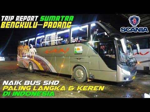 Naik bus SUMATRA SHD PALING LANGKA & KEREN di Indonesia   SAN S-Liner SCANIA K360 Opticruise