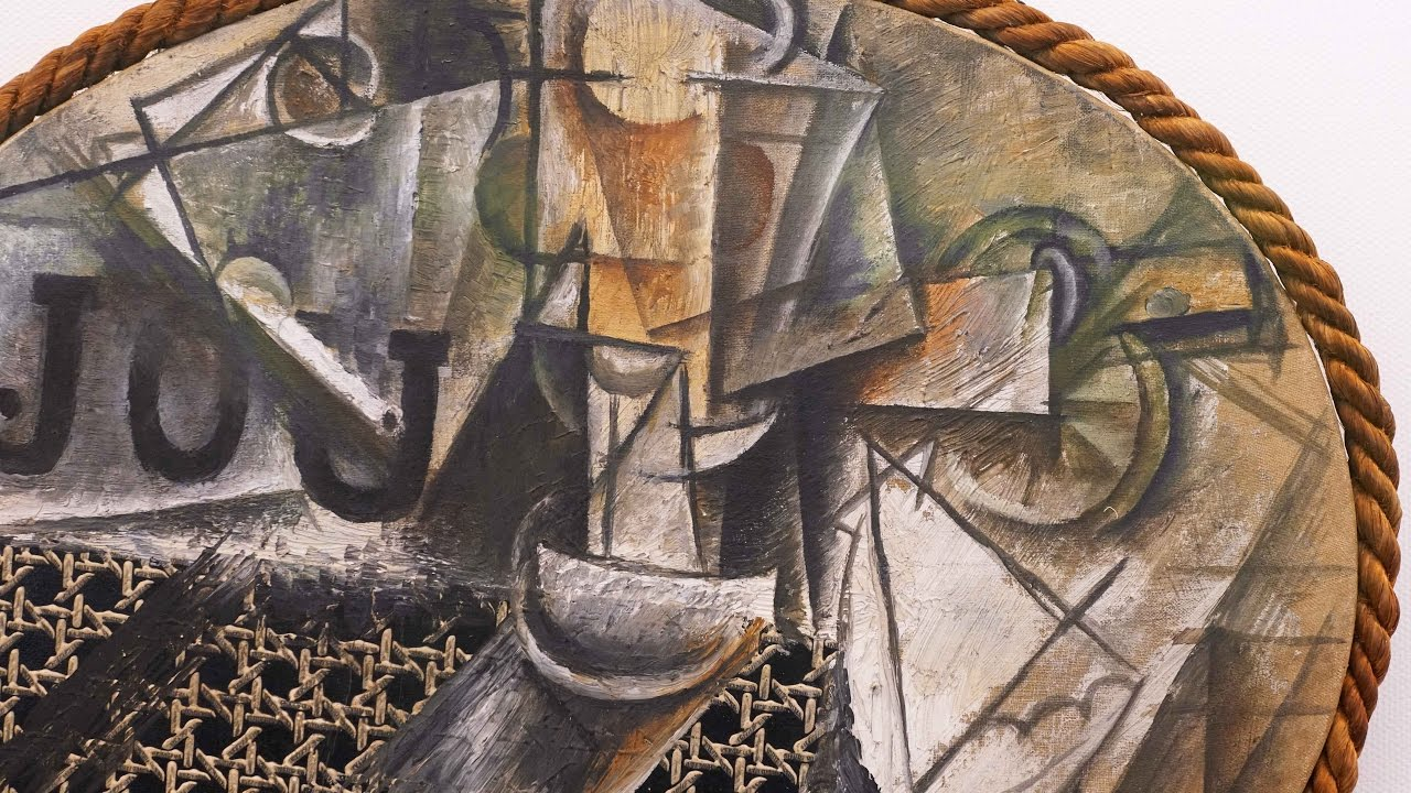 Picasso Still Life with Chair Caning  YouTube