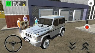 Driving Island: Delivery Quest - Gelandewagen Driving - Android Gameplay FHD