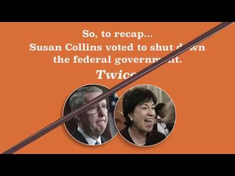 The Real Story Behind Susan Collins and the 2013 Government Shutdown