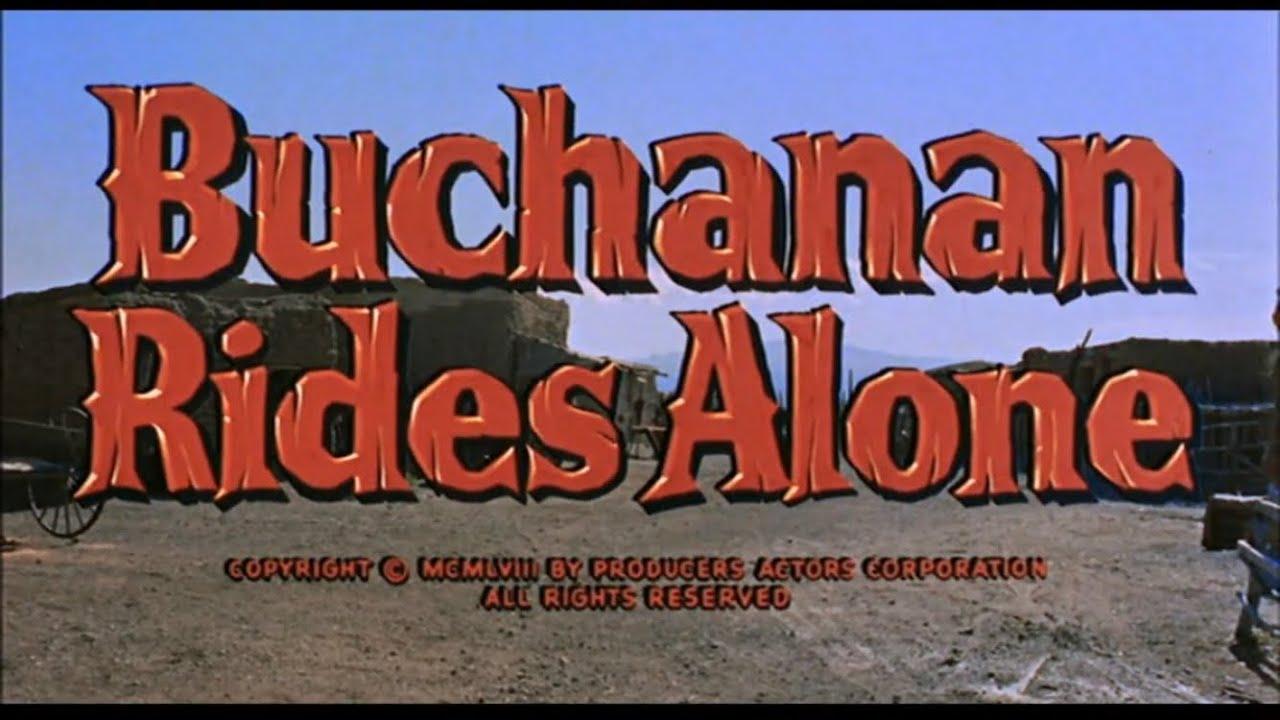 Download Buchanan Rides Alone
