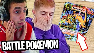 BATTLE OPENING POKEMON XY EVOLUTION avec MICHOU.. (on pack un dracaufeu)