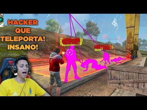 HACKERS INSANOS MATANDO YOUTUBERS AO VIVO NO FREE FIRE!!!