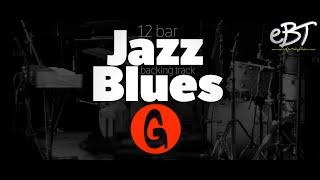 12 Bar Jazz Blues Backing Track in G, 140bpm