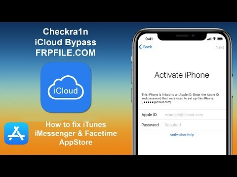 Checkra1n iCloud Bypass How to fix iTunes | iMessenger | Facetime | Appstore