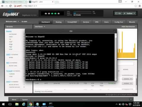 how to use edgerouter x