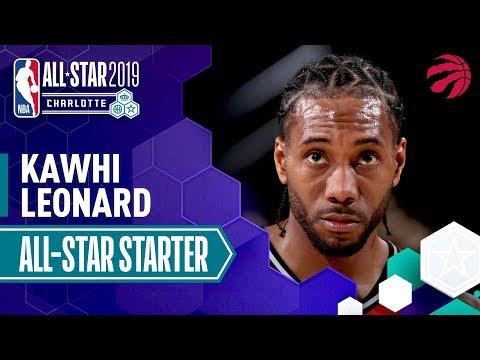 Kawhi Leonard 2019 All-Star Starter | 2018-19 NBA Season
