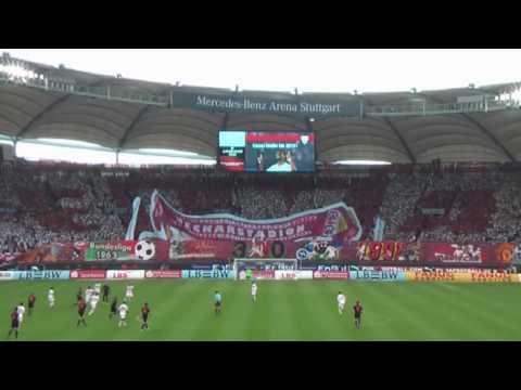 VfB Stuttgart - Mainz / 01.Mai 2010 Choreo Cannstatter Kurve Teil2