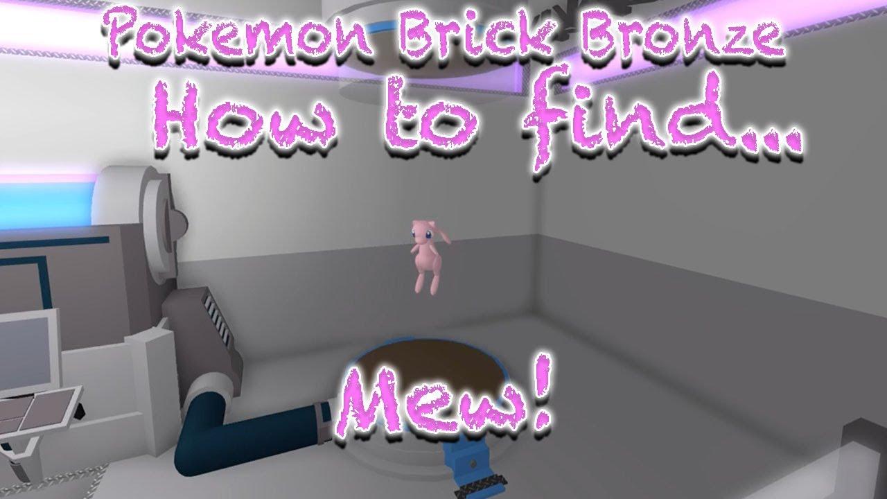 roblox brick bronze how to get mew