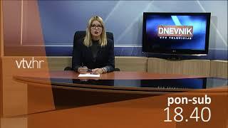 VTV Dnevnik najava 9. listopada 2018.