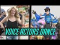 OVERWATCH VOICE ACTORS DANCE Comparison   Reference Music  Side By Side HD