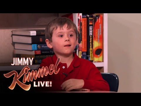 Six Year Old Genius Arden Hayes on Jimmy Kimmel Live