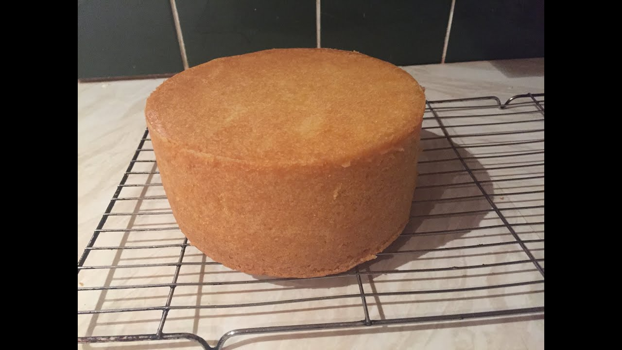 How To Bake A Deep 6 Inch Round Madeira Cake Youtube