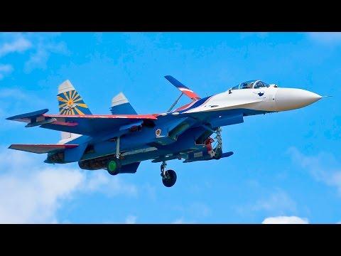 Авиашоу в Кубинке к юбилею «Русских Витязей» и «Стрижей»