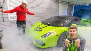 vermillionvocalists.com - LAMBORGHINI PRANK ON BROTHER!! (GONE WRONG)