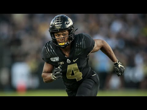 The Shiftiest Player in College Football 💨 Rondale Moore Purdue Highlights 🚂 || HD