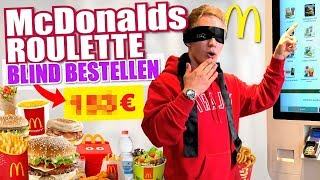 100% ZUFÄLLIG & BLIND BEI McDonald's BESTELLEN! I McDonalds Roulette