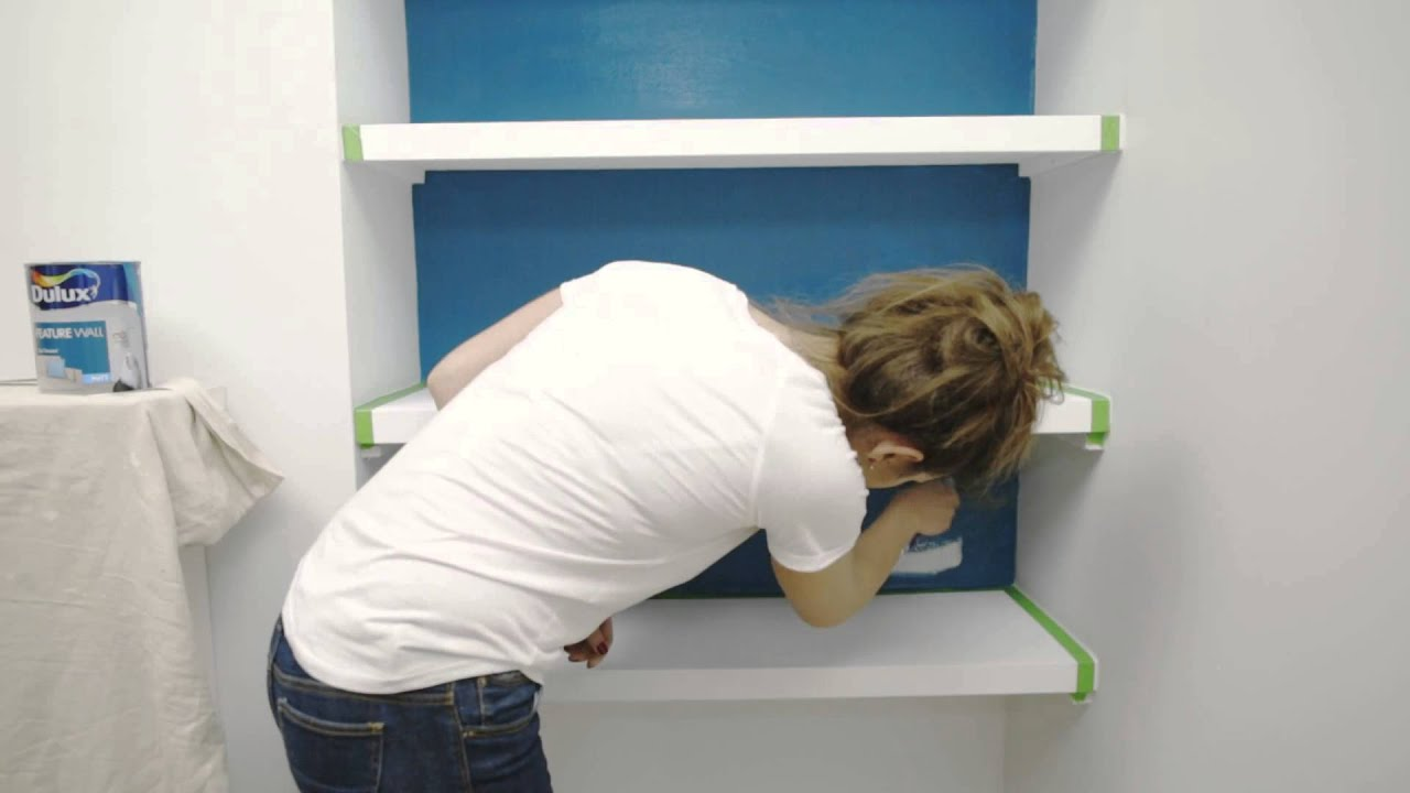 How To Paint Your Shelves