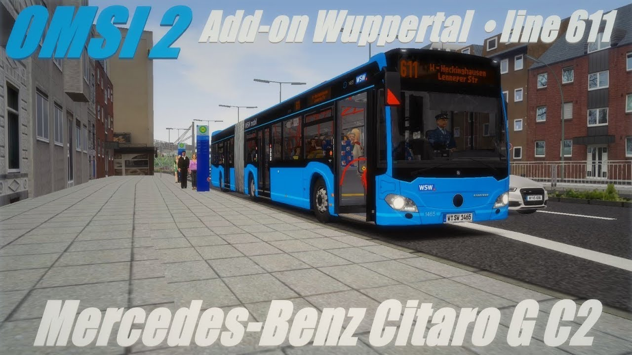 OMSI 2 • Add-on Wuppertal (line 611) • Mercedes-Benz Citaro