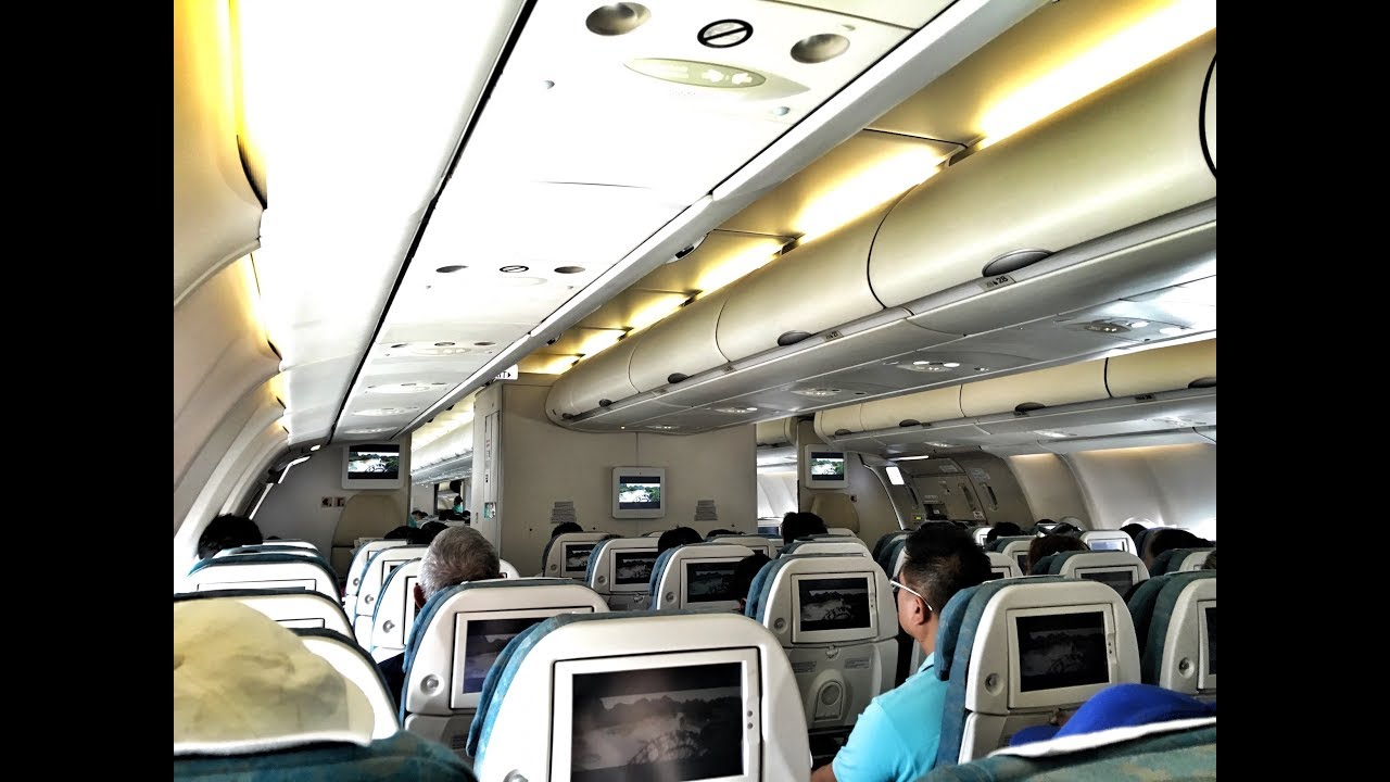 vietnam airlines a330 flight review vn235 hanoi to ho. Black Bedroom Furniture Sets. Home Design Ideas