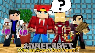 Minecraft Adventure - THE SEARCH FOR ROPO'S REAL PARENTS!!!!