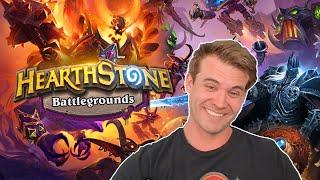 (Hearthstone) First Time Battlegrounds