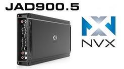 NVX JAD900.5 Car Amplifier | 900W Class D 5-Channel Amp