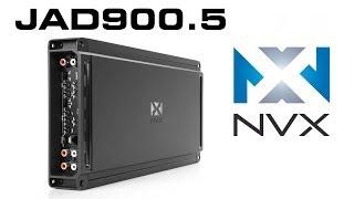Video NVX JAD900.5 Car Amplifier | 900W Class D 5-Channel Amp download MP3, 3GP, MP4, WEBM, AVI, FLV Juni 2018