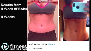 Fitness Blender Before & After Pictures - Fitness Blender Results + Programs Used thumbnail