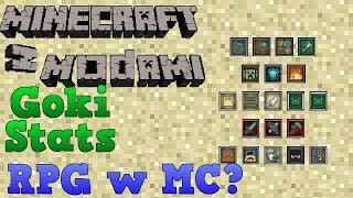 Minecraft z modami #119 - Goki Stats - Rpg w MC?