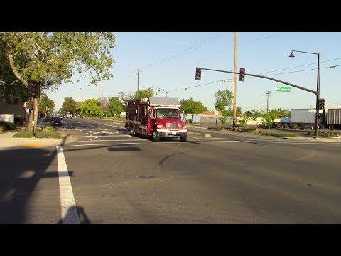 VERY RARE! - Sacramento Metro Fire District Engine 110 & Decon 110 Responding Code 3