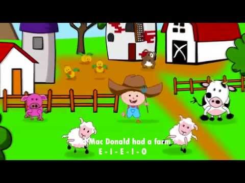 Old Mac Donald had a farm, canción infantil en inglés